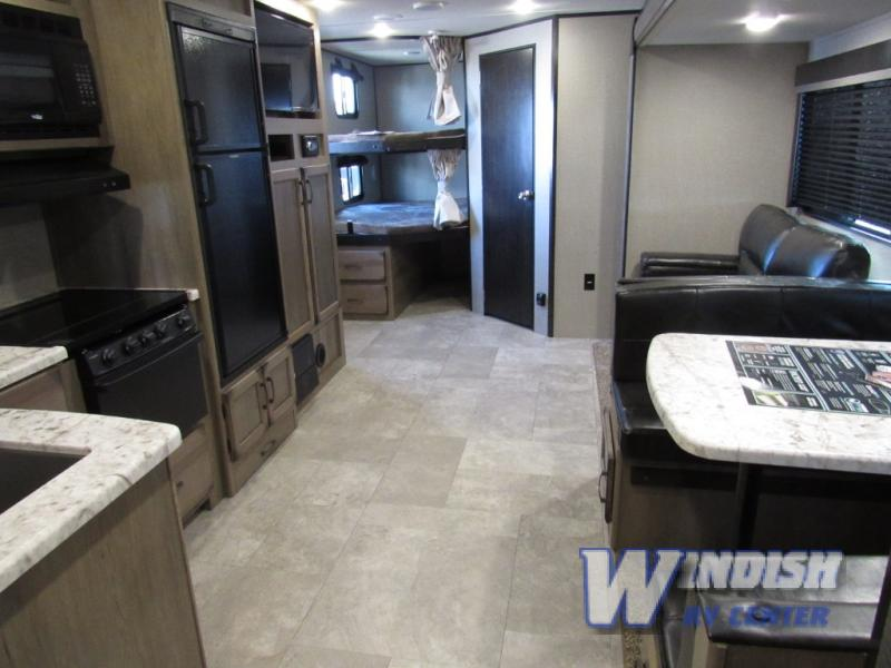 Grand Design Transcend Travel Trailer Interior bunkhouse