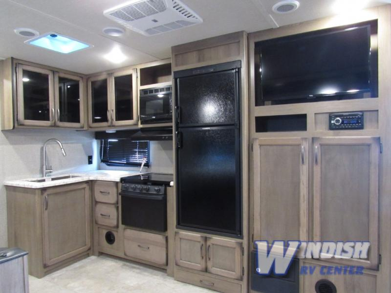Grand Design Transcend Travel Trailer Kitchen