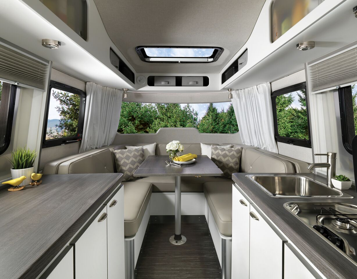 Windish RV Airstream Nest Travel Trailer Inside