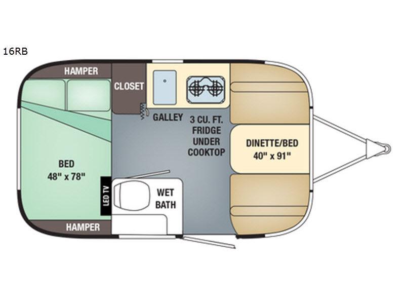 Airstream Sport Travel Trailer 16RB