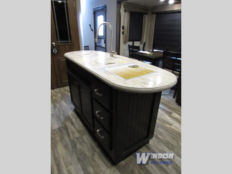 Grand Design Reflection RV Kitchen Island
