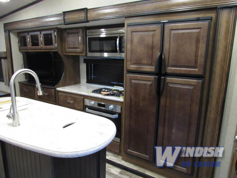 Grand Design Reflection RV Kitchen Refrigerator