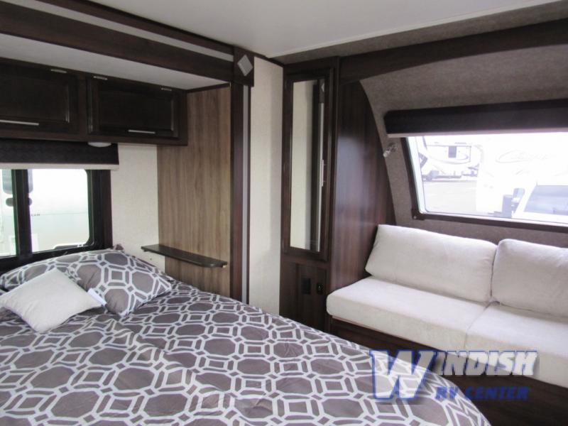 Jayco White Hawk Travel Trailer Bedroom