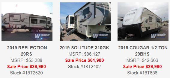 Windish RV One Year Anniversary Sale Colorado Springs RV Fifth Wheels