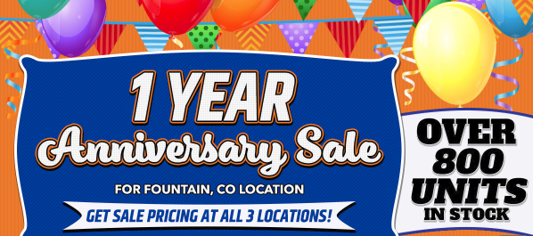 Windish RV One Year Anniversary Sale Colorado Springs RV Sale