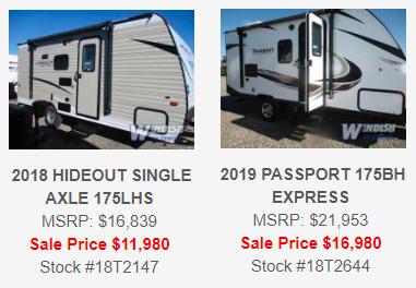 Windish RV One Year Anniversary Sale Colorado Springs RV Travel Trailers