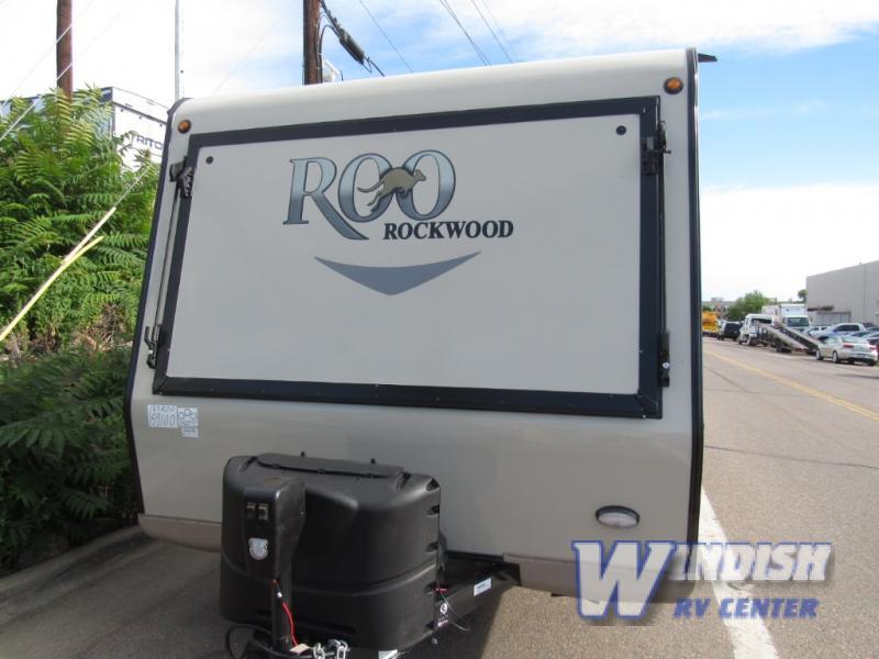 Forest River Rockwood Roo Expandable Hybrid Travel Trailer Front