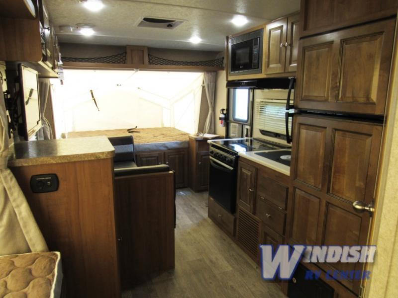 Forest River Rockwood Roo Expandable Hybrid Travel Trailer Interior