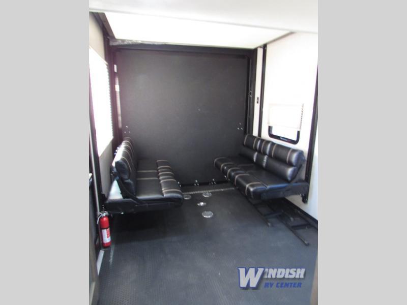 Dutchmen Triton Fifth Wheel Toy Hauler Windish RV Garage