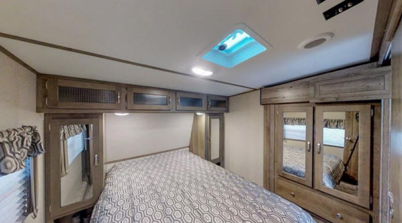 sprinter campfire edition bedroom