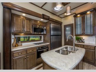 solitude fifth wheel kitchen