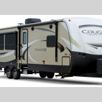 cougar half ton travel trailer