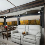 living room in cougar half ton