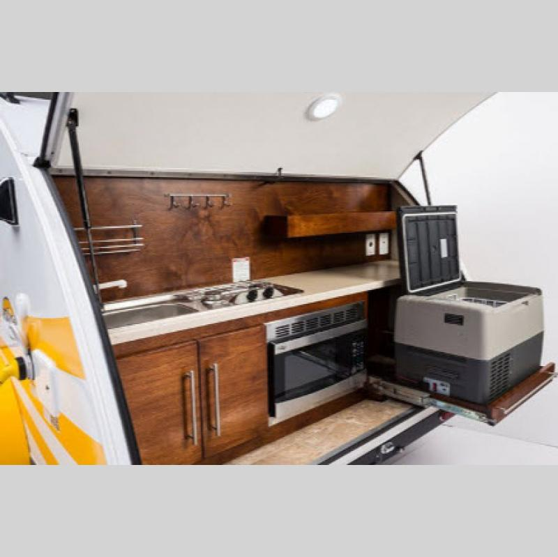 Tag Teardrop Travel Trailer kitchen
