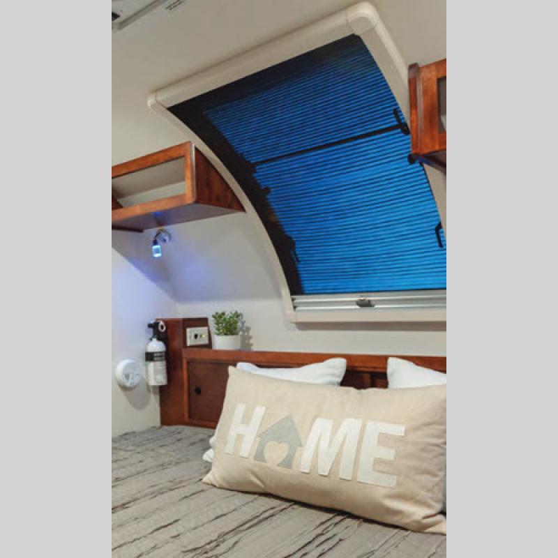 Tag Teardrop Travel Trailer bed
