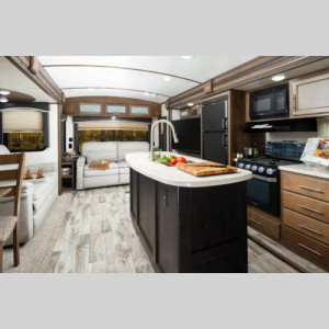 Cougar Half Ton Series Travel Trailer Interior