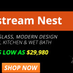 Airstream Nest Travel Trailer Banner