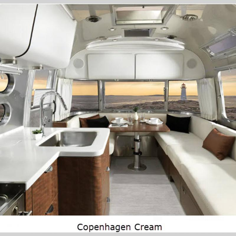 Airstream RV Globetrotter Travel Trailer Interior