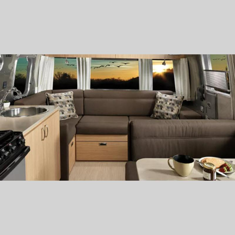 Airstream Flying Cloud Interior Couch