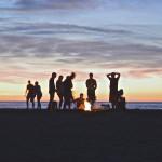 Campfire beach
