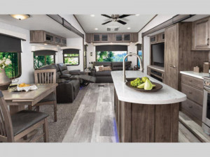 interior Sierra fifth wheel