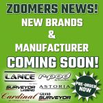 New Brands Coming to Zoomers RV